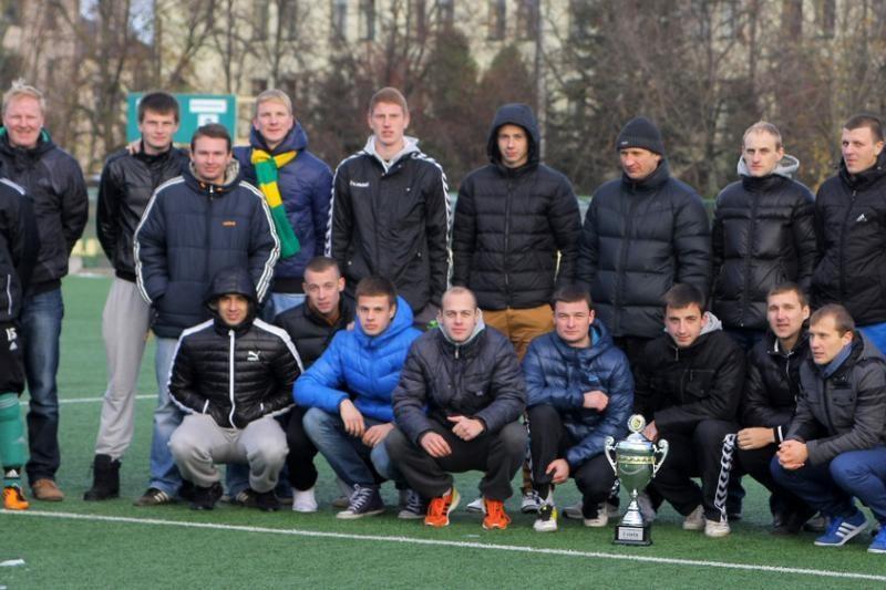"""F.B.K. """"Kaunas"""" triumfavo N. ir A. Paškauskų taurės turnyre"""