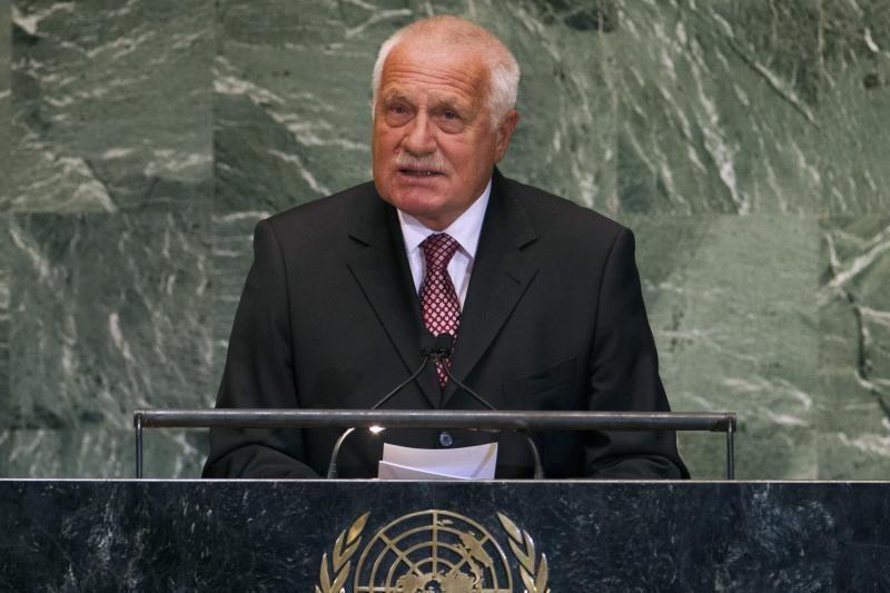 Į Čekijos prezidentą šauta iš šratasvydžio