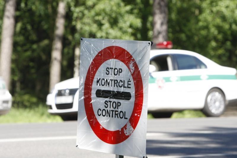 Per policijos reidą Vilniuje - 21 pažeidėjas