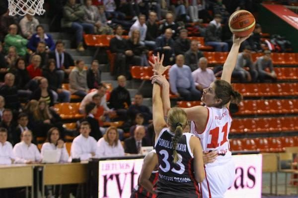 """""""Viči-Aisčių"""" krepšininkės įveikė Eurolygos čempiones"""
