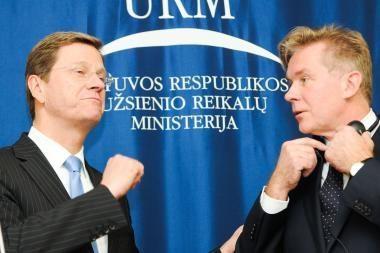 Vokietijos ministras giria Lietuvą už pastangas siekiant finansinės drausmės