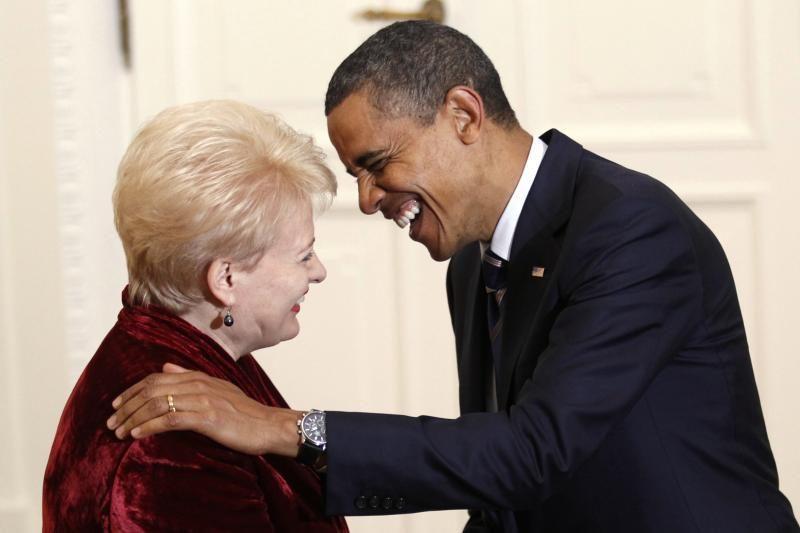 D. Grybauskaitė – B. Obamos koziris gerinant įvaizdį