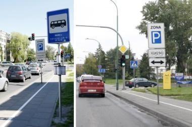 Eismą trikdžiusi autobusų stotelė pašalinta