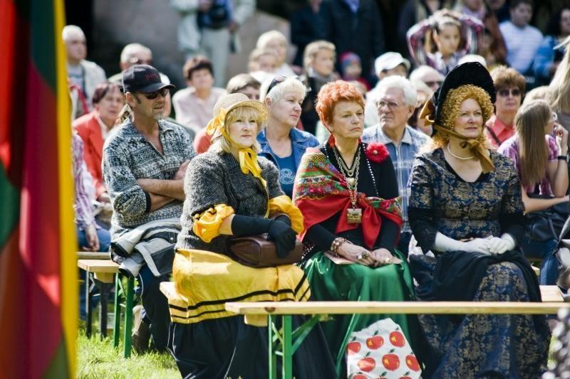 Grafas dirigavo Aleksoto bendruomenės šventei