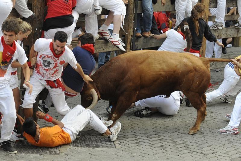Pamplonoje prasideda tradicinis bulių bėgimo festivalis