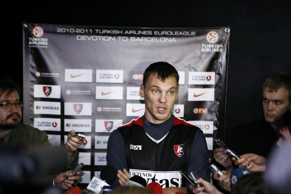 Š.Jasikevičius: nežinau, ko trūksta komandai