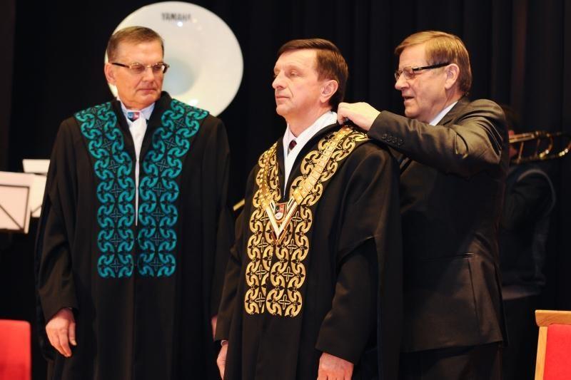 Inauguruotas naujasis Kauno technologijos universiteto rektorius