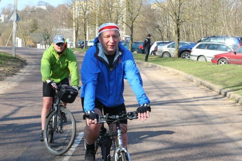 Per dviračių žygius premjeras teigia pamatęs gražėjančius kaimus