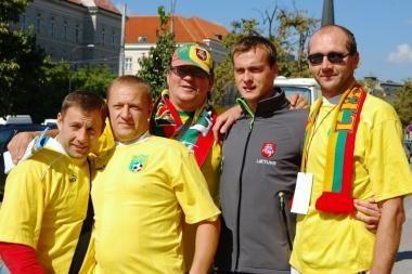 Prieš mačą su Čekijos futbolininkais lietuvių trenerį kamavo nemiga