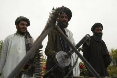 Afganistane Talibanas paskelbė pradedąs pavasarinę puolamąją veiklą