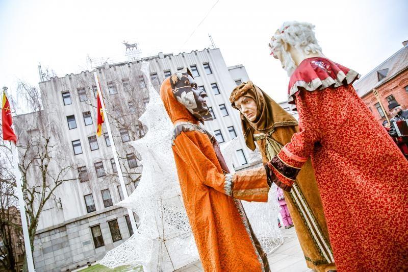 Šventines linksmybes užbaigė Trys Karaliai