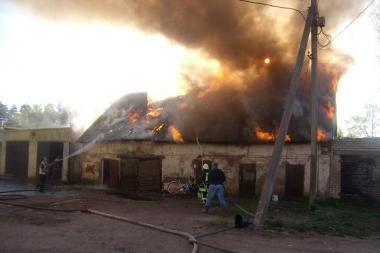 Šilutės r. gaisre žuvo vyriškis