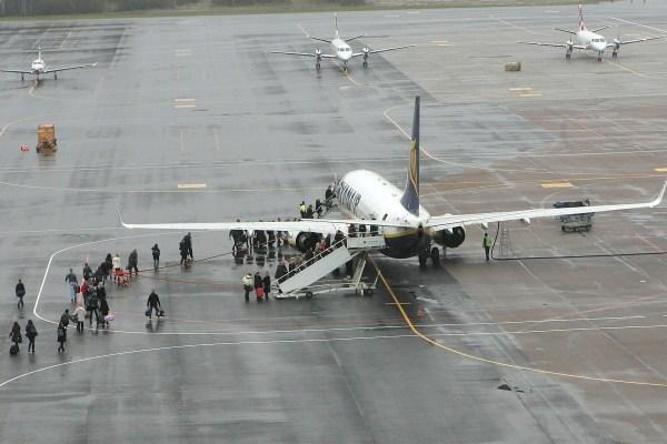 Kauno oro uoste pernai - rekordinis keleivių srautas