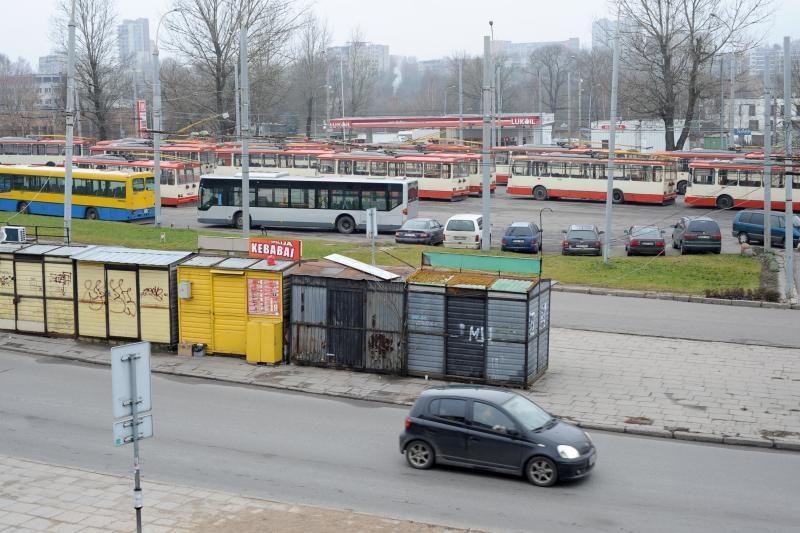 Nauji paviljonai kioskininkams kainuos nuo 10 iki 140 tūkst. litų