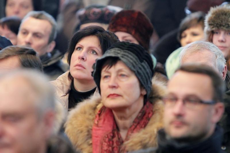 Klaipėdoje – mišios už sausio 13-osios aukas