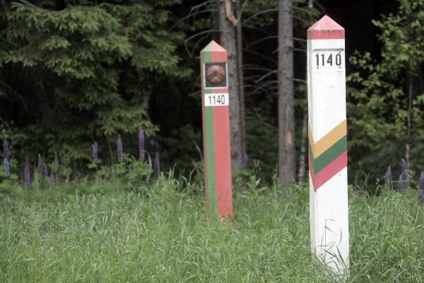 Baltarusijos pareigūnas: sutartis dėl sienos kirtimo -