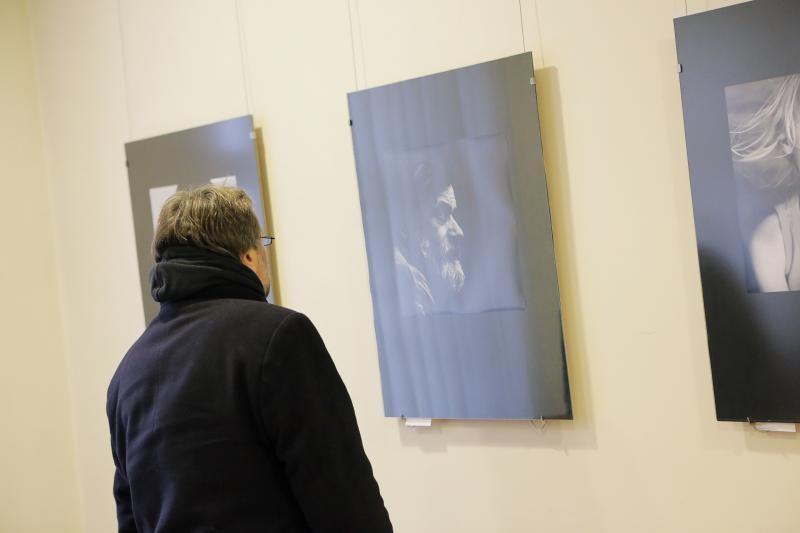 Fotografijų parodoje - žmogaus portretas