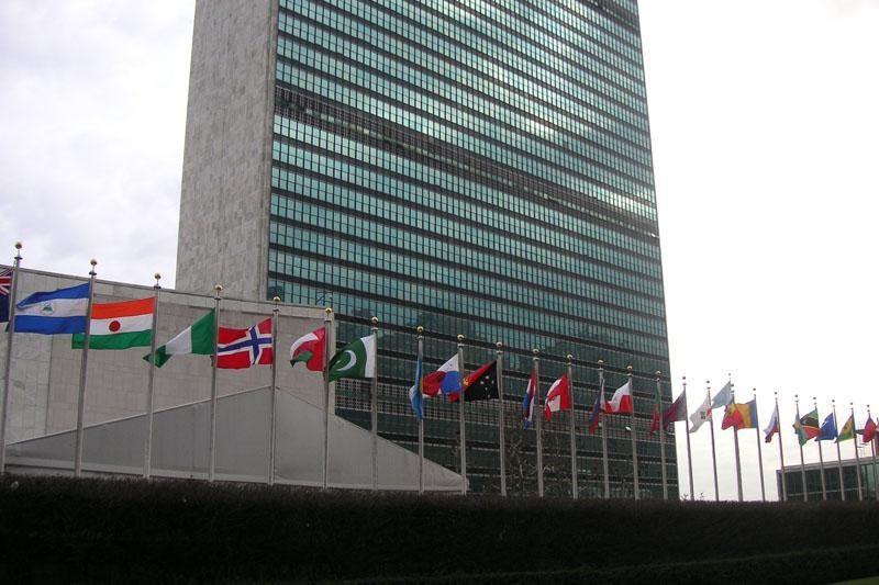 Rusija ir Kinija antrą kartą blokavo JT veiksmus dėl Sirijos
