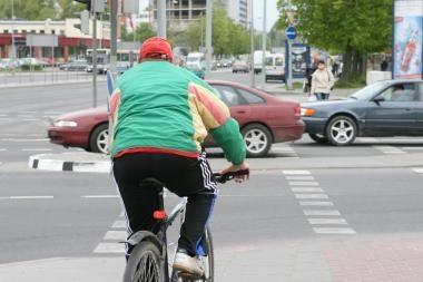Kuršėnuose per avariją žuvo dviratininkas