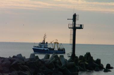 Nepilnamečiai į jūrą išplaukė be dokumentų