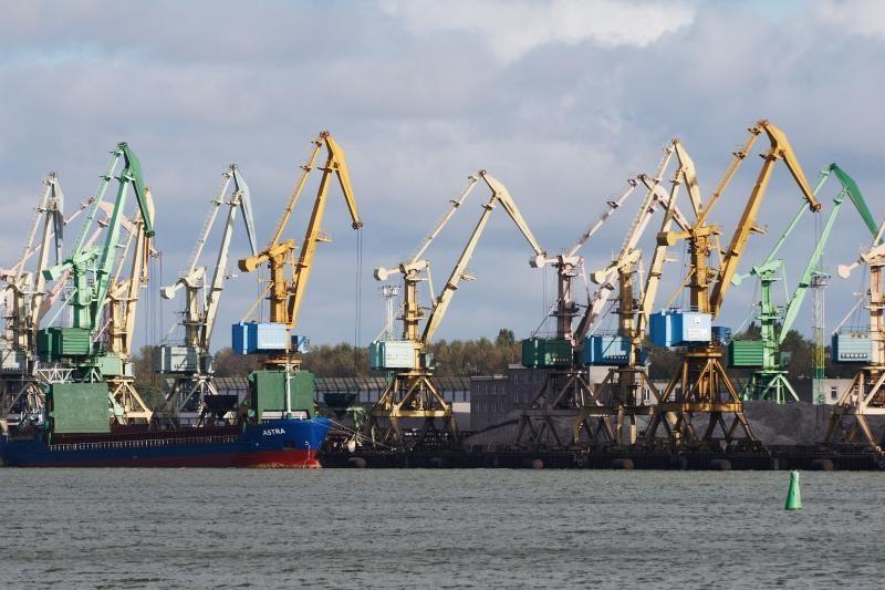 Smuktelėjo krova Klaipėdos valstybiniame jūrų uoste
