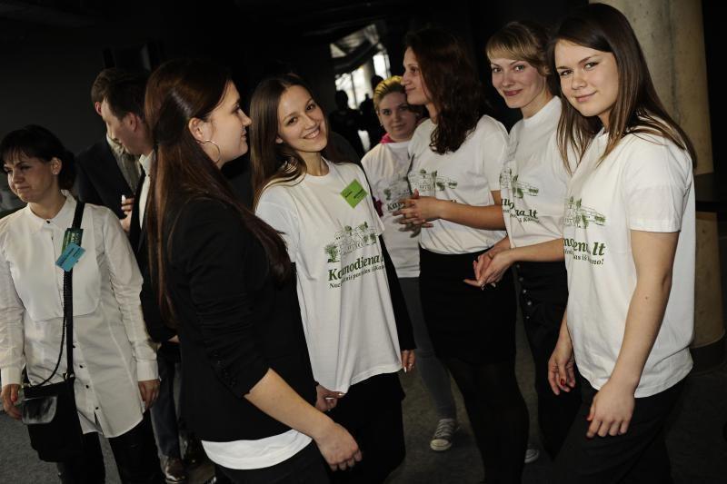 Kontaktų mainai priviliojo būrį Kauno jaunimo