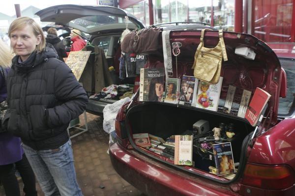 Bagažinių turgus kitąmet veiks ir Vilniuje