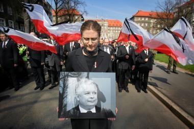 Lenkijoje kuriamas tragiškai žuvusio prezidento Lecho Kaczynskio institutas
