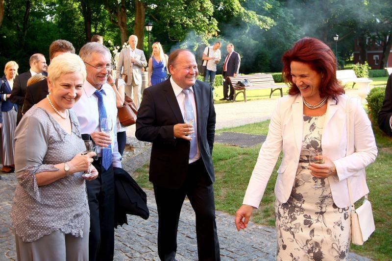 Raudondvario dvare – Europos vadovų vizitas
