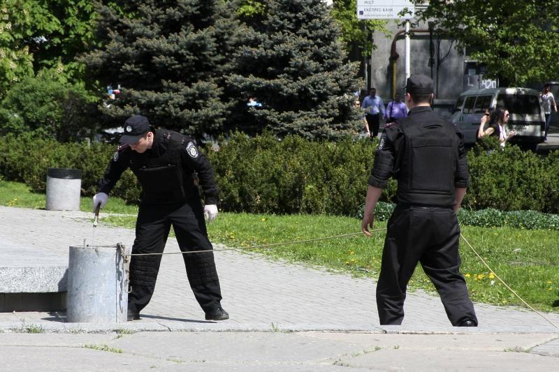 Dniepropetrovske – sprogimų virtinė, sužeisti 27 žmonės