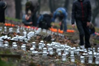 Kauno centre per Vėlines sužibs tūkstančiai žvakučių