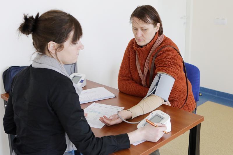 Pasaulinę sveikatos dieną klaipėdiečiai noriai tikrinosi sveikatą