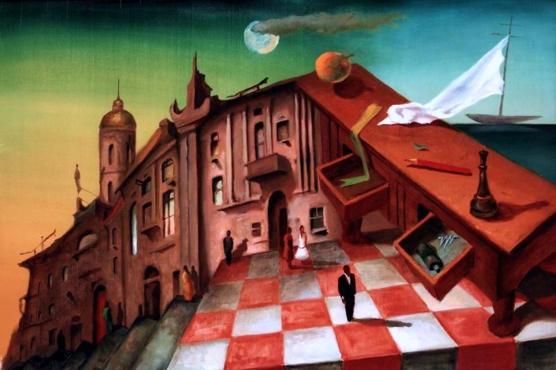 Baroti galerijoje – tapytojos J.Mykolaitytės miesto mįslės