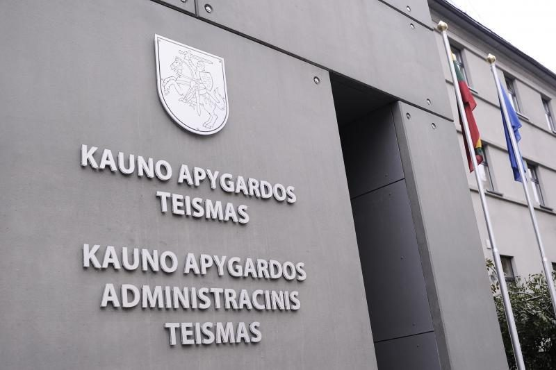 Apie sprogimą Kauno teisme pamelavęs kalinys paklos 13 tūkst. litų