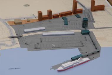 Ministras žada išjudinti Keleivių terminalo statybas