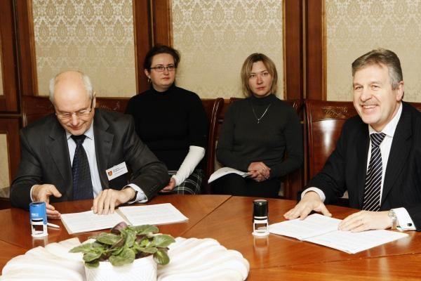 Sutarta dėl termofikacinės elektrinės statybų