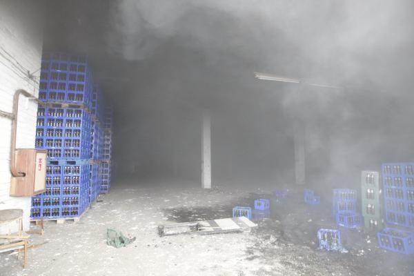 Klaipėdoje prekybos bazės sandėlyje - sprogimas