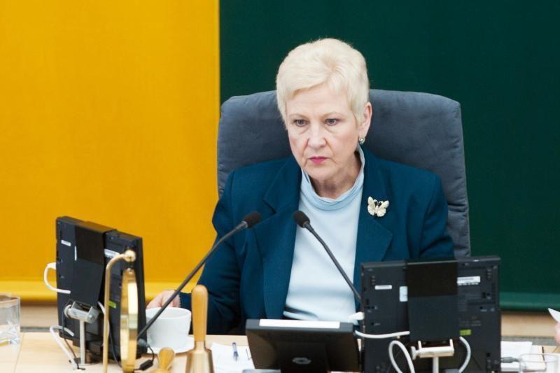 """I.Degutienė nusišalino nuo """"Snoro"""" komisijos svarstymo (papildyta)"""