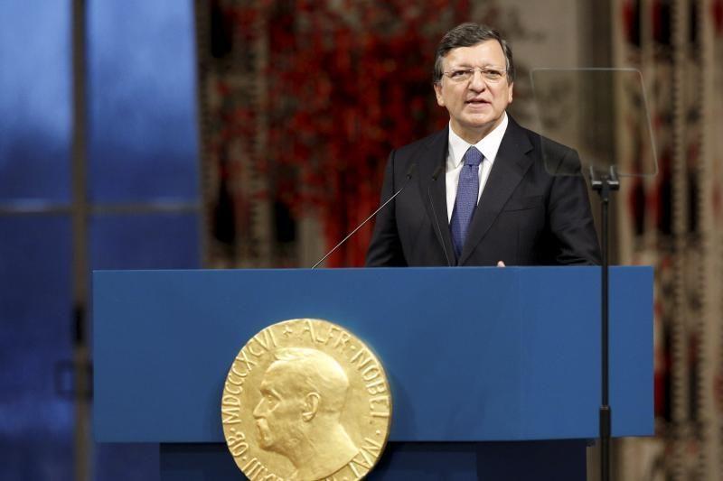 Krizę išgyvenančiai ES oficialiai įteikta Nobelio taikos premija