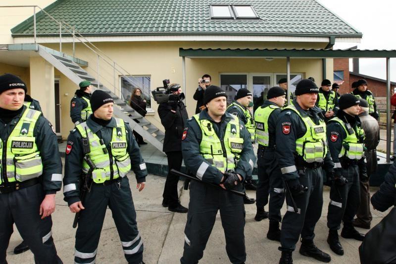 Dėl L.Stankūnaitės dukters – pasitarimas Kauno policijoje
