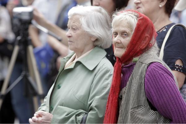 Seimo pirmininkė: pensijų didinimas nuo kitų metų keltų grėsmę socialinei sistemai