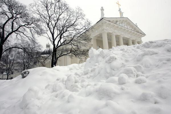 Sniego stichija siaučia, Vilniaus gatvės nevalomos (papildyta)