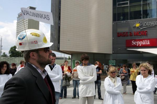 Vilniaus valdžia skriaudžia šizofrenijos aukas?