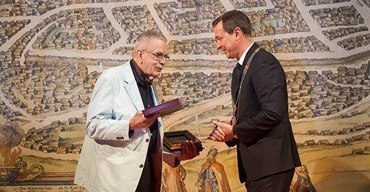 T. Venclova pradėjo naują Vilniaus garbės piliečių dešimtuką