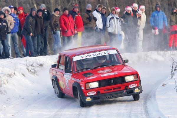 """""""Halls Winter Rally 2012"""" žiūrovams ruošiamos 8 žiūrovų zonos"""