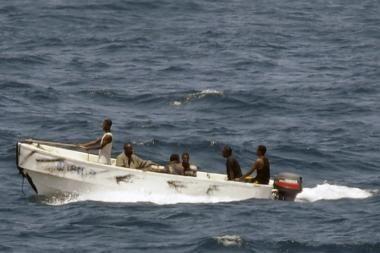 Piratai užgrobė vokiečių laivą su 17 žmonių įgula