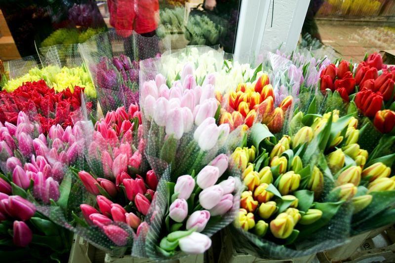 Gėlininkai kovo 8-ąją didelio uždarbio nesitiki