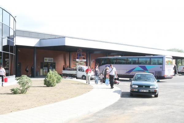 Klaipėdos autobusų stotis atvėrė duris keleiviams