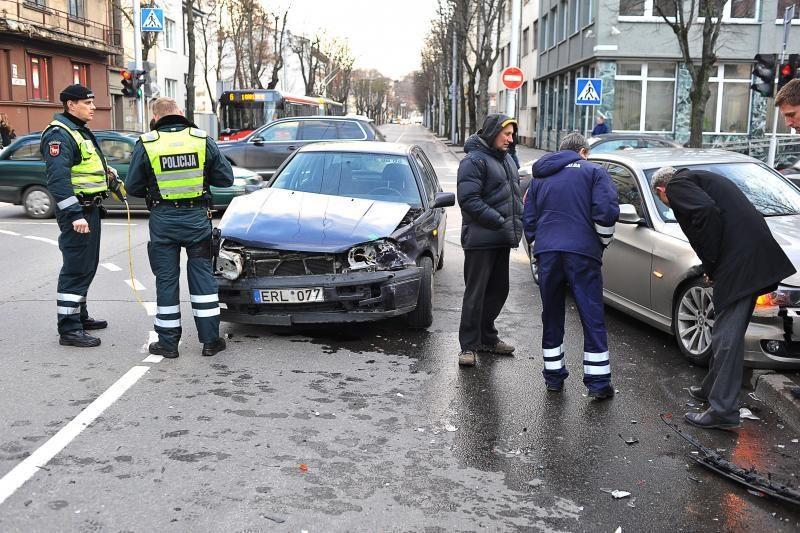 13 diena, penktadienis Kaune buvo paženklinta avarijomis