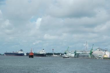 Klaipėdos uoste užfiksuotas incidentas